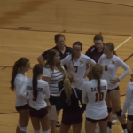 Davison Varsity Volleyball takes a defeat to Powers Catholic