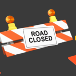 Intersection Closing at M-15 and Lapeer road